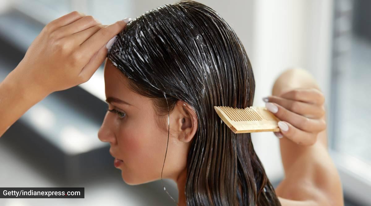 aloe vera gel, hibiscus for hair growth, hair mask for hair growth, indianexpress.com, indianexpress, hair growth mask, DIY hair mask,