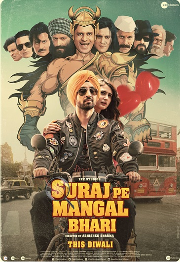 Get Ready to Go on a Complete Laughter Riot this Diwali with Suraj Pe Mangal Bhari
